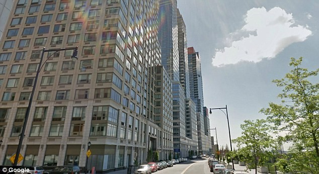 "Extell construction firm is building a new luxury condo on Manhattan's Upper West Side. The developer is seeking tax breaks by building 55 low-income units in the same building, but tenants in the affordable housing section will have to enter the building through the back side ""poor door"" (Photo: Google)"