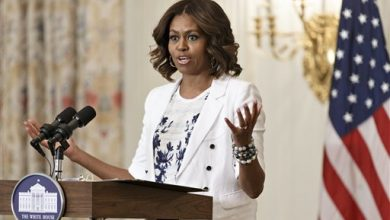 Photo of First Lady Tells America to 'Drink Up' More Water