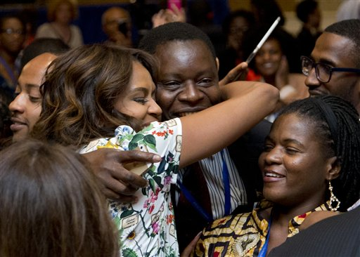Photo of First Lady Asks Leaders to Change Gender Attitudes