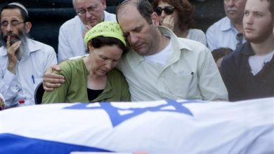 Photo of Israeli PM at Teens' Funeral: 'Broad Moral Gulf' Between Us, Enemy