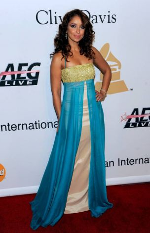 Mya arrives at the annual Pre-GRAMMY Gala presented by The Recording Academy and Clive Davis on Saturday, Jan. 30, 2010 at The Beverly Hilton Hotel in Beverly, Hills, California. (Chris Pizzello/AP Photo)