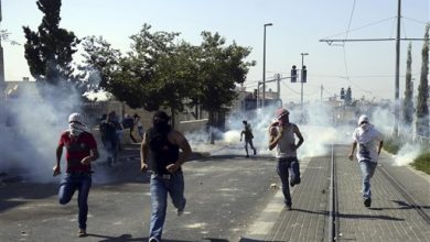 Photo of Clashes Break Out During Palestinian Funeral