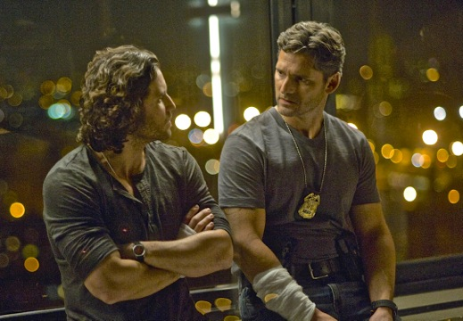 """Edgar Ramirez and Eric Bana co-star in the paranormal cop thriller, """"Deliver Us From Evil"""""""