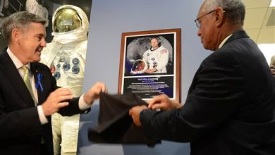 Photo of NASA, Apollo 11 Crewmates Honor Neil Armstrong 45 Years After Moon Landing