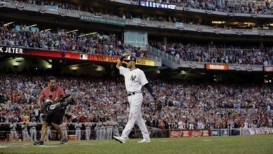 Photo of Jeter, Trout Lead AL Over NL 5-3 in All-Star Game