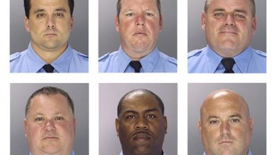 Photo of 6 Philadelphia Officers Charged in Corruption Case