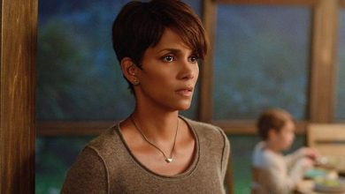 "Photo of Halle Berry on Role as Pregnant Astronaut in New Series ""Extant"""