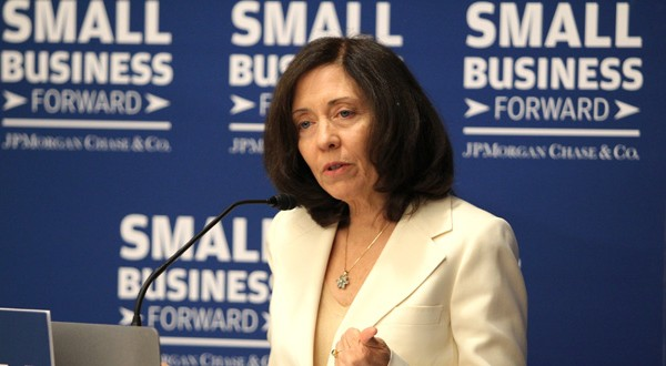 Sen. Maria Cantwell, D-Washington, chairs the Senate Small Business & Entrepreneurship Committee. (AP photo/Invision for JPMorgan Chase & Co.)