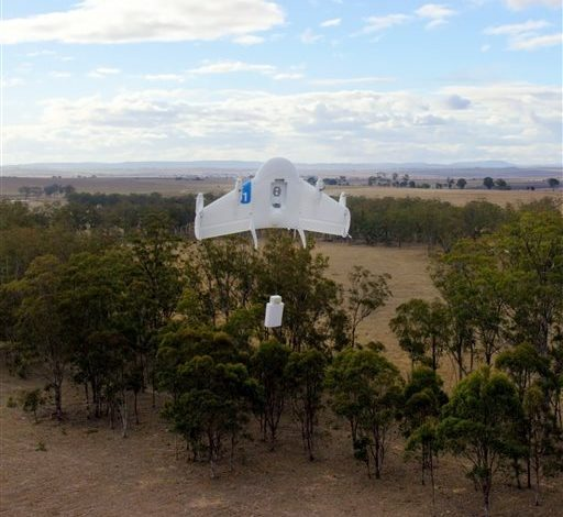 Photo of Google Building Fleet of Package-Delivering Drones