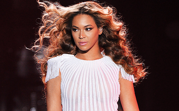 """Singer Beyonce performs on the opening night of her """"Mrs. Carter Show World Tour 2013"""", on Monday, April 15, 2013 at the Kombank Arena in Belgrade, Serbia. (Frank Micelotta/Invision/AP)"""