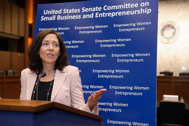 Committee Chair Maria Cantwell