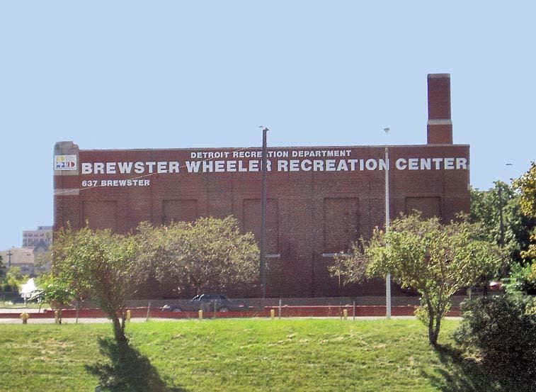 Brewster Wheeler Recreation Center (Courtesy of Detroit1701.org)
