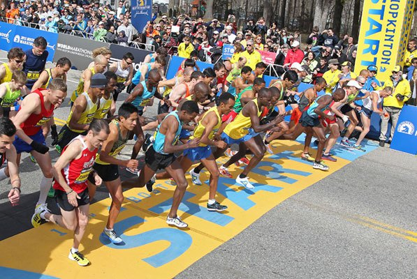 Boston Marathon (AP Photo/Stew Milne)