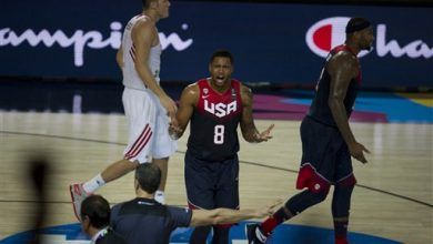 Photo of Down at Half, U.S. Beats Turkey in Basketball Worlds