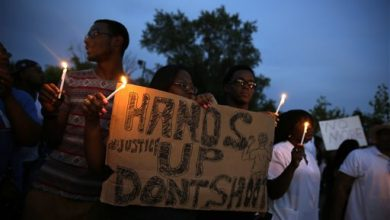 Photo of Amid Weekend of Protests, 'World is Watching' Ferguson