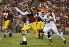Photo of This is the End for Robert Griffin III in Washington