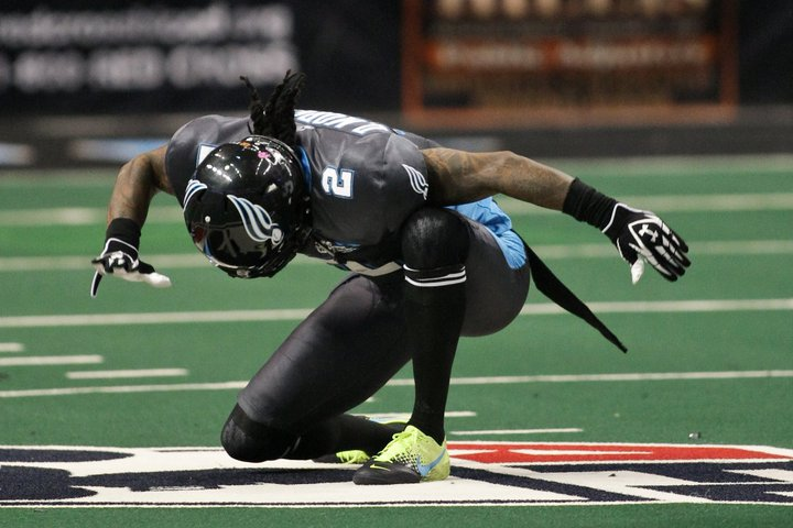 Philadelphia Soul wide receiver Donovan Morgan in 2012 (AP Photo)