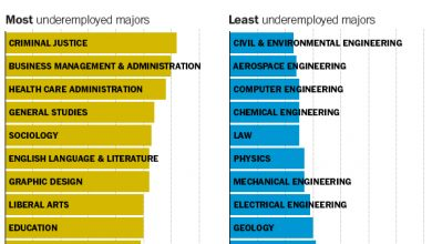 Photo of The College Majors Most and Least Likely to Lead to Underemployment