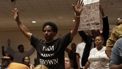 Photo of Ferguson Remains on Edge As 4-Day Protest Looms