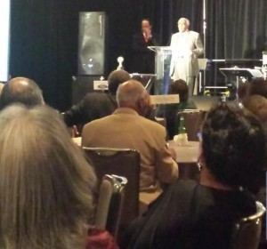 Rep. Charles B. Rangel speaking at NNPA 2014 Leadership Awards. (LaTrina Antoine Washington/Afro-American Newspaper)