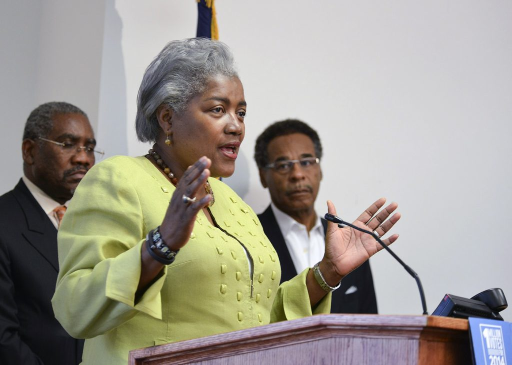Donna Brazile, vice chair of Voter Registration and Participation for the Democratic National Committee said that the Black vote is crucial for Democratic successes all across the country. (Freddie Allen/NNPA)
