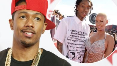 Photo of Nick Cannon 'Denies He Caused Amber Rose and Wiz Khalifa Split'