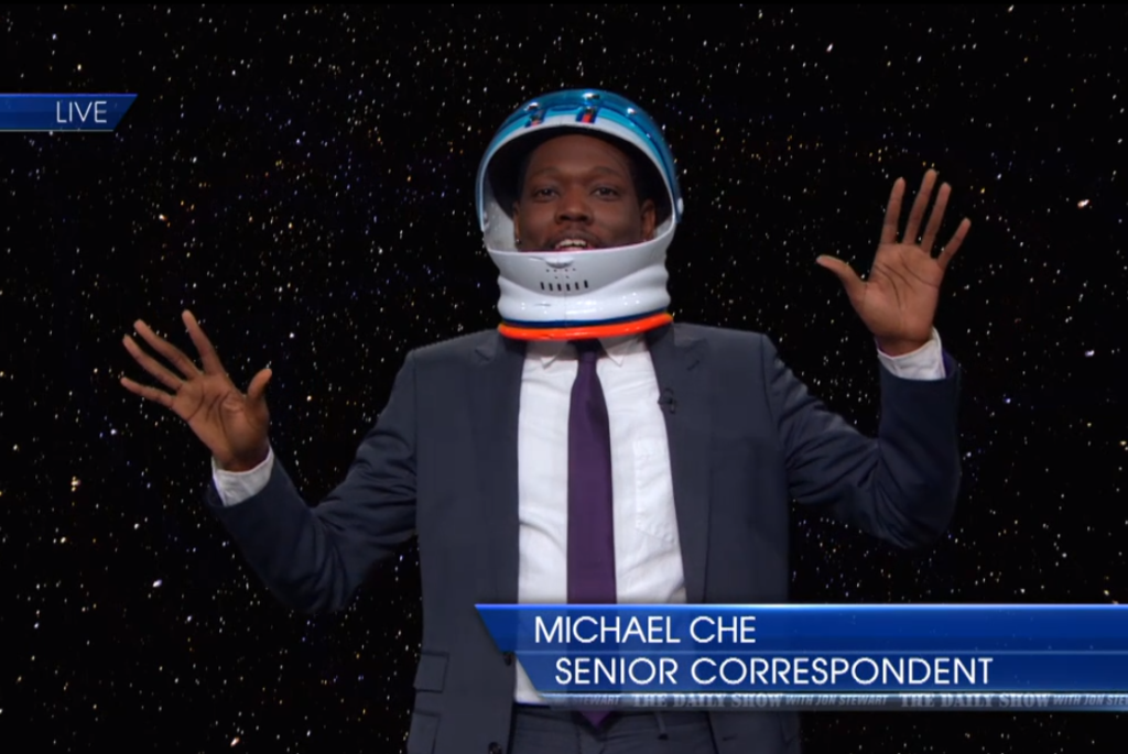 Daily Show correspondent and comedian Michael Che (Credit/The Daily Show)