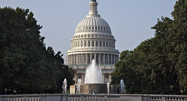 The Capitol is seen in Washington, Thursday morning, July 31, 2014, as lawmakers prepare to begin a five-week summer recess. Republicans pushed a divided House yesterday toward a campaign-season lawsuit against President Barack Obama, accusing him of deliberately exceeding the bounds of his constitutional authority. Obama and other Democrats derided the effort as a stunt aimed at tossing political red meat to conservative voters. (AP Photo/J. Scott Applewhite)