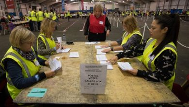 Photo of Vote Counting Begins in Scotland on Independence