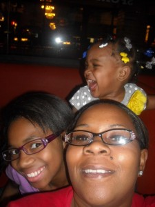 Nicole Bolden with her daughters Liyah and Lexus. (Photo courtesy of Nicole Bolden)