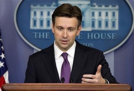 White House spokesman Josh Earnest(AP Photo)