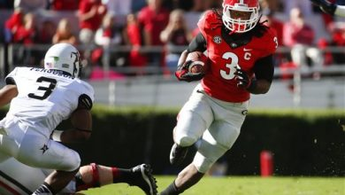 Photo of No. 13 Georgia RB Gurley Suspended Indefinitely