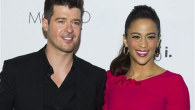 Photo of Paula Patton Files for Divorce from Robin Thicke