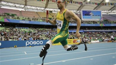 Photo of Oscar Pistorius Sentenced to 5 Years in Prison