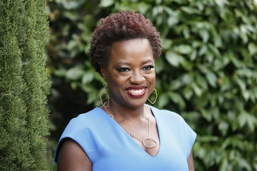 Actress Viola Davis poses at The Rape Foundation's Annual Brunch at Greenacres on Sunday, Sept. 28, 2014, in Beverly Hills, Calif. (Photo by Danny Moloshok/Invision/AP)