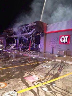 Ferguson, Mo. QuikTrip gas station (Courtesy photo)
