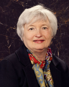 Janet Yellen, chair of the Board of Governors of the Federal Reserve System.