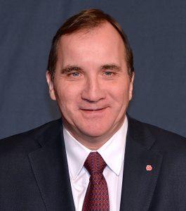Swedish Prime Minister, Stefan Löfven.