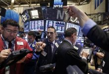 Photo of Wall Street Ends Lower, But Health Stocks Rally