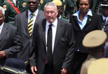 Photo of White Zambian Named Acting President