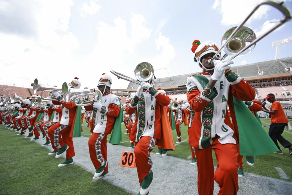 The marching band for Florida A&M University were suspended from playing for nearly 22 months after the 2011 hazing death. (John Raoux/AP)