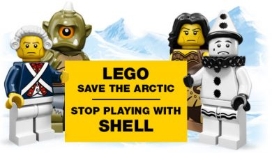Photo of Lego Ditches Shell After Arctic Oil Protests