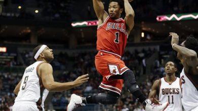 Photo of Rose Returns, Bulls Beat Bucks 95-86