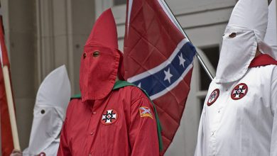 Photo of KKK Missouri Chapter Threatens Ferguson Protesters with 'Lethal Force'