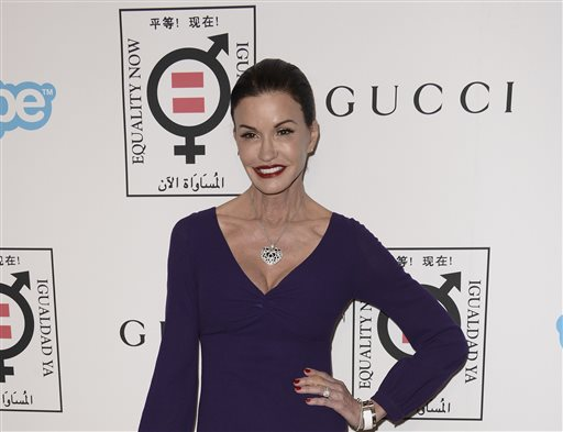 "In this Monday, Nov. 4, 2013 file photo, model and television personality Janice Dickinson arrives at the Make Equality Reality Gala at the Montage Beverly Hills, in Beverly Hills, Calif. Dickinson is adding her name to the women who have accused comic Bill Cosby of sexual assault. In an ""Entertainment Tonight"" interview that aired Tuesday, Nov. 18, 2014, Dickinson said that the 1982 incident occurred in Lake Tahoe, California, where he was performing. (Photo by Dan Steinberg/Invision/AP, File)"