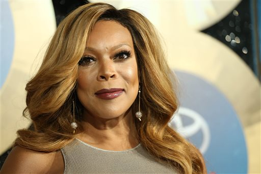 "In this Nov. 7, 2014 file photo, TV talk show host Wendy Williams arrives during the 2014 Soul Train Awards at the Orleans Arena at The Orleans Hotel & Casino in Las Vegas, Nev. Williams, host of her talk show ""The Wendy Williams Show,"" also produced the Lifetime TV film, ""Aaliyah: The Princess of R&B."" (Photo by Omar Vega/Invision/AP, File)"