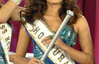 Photo of Funerals Held for Miss Honduras and Her Sister at Tiny Cemetery