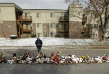 Photo of Michael Brown Protesters Clash with Martin Luther King Day Observers