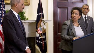Photo of Lynch to Cast Herself as Departure From Holder in Bid to Be Attorney General