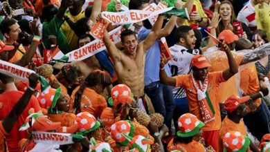 Photo of Shocking Pictures Emerge of Riot Police Beating Ivory Coast Fans After Team Qualify for Africa Cup of Nations